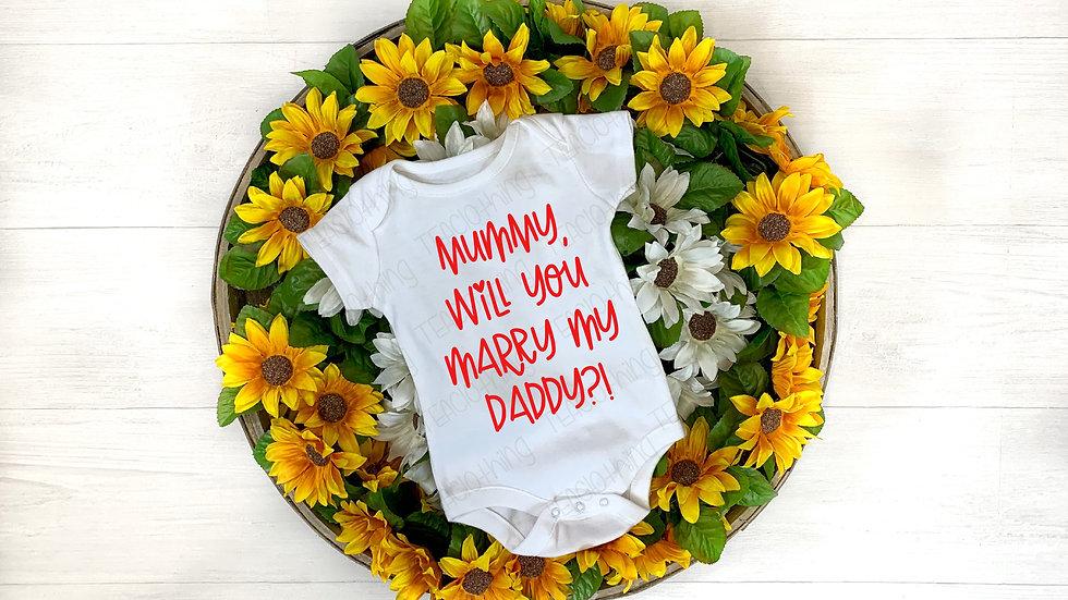 Mummy, Will You Marry My Daddy?