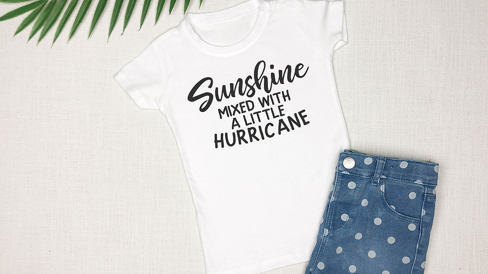 Sunshine Mixed With a Little Hurricane