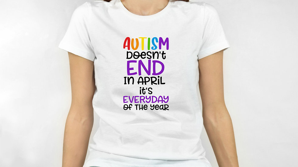 Autism Doesn't End In April