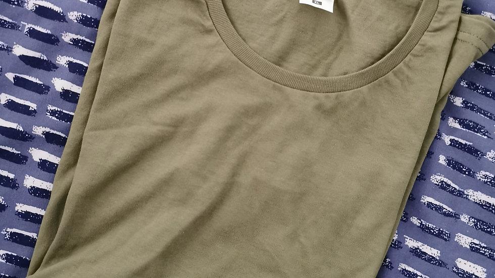 Ladies Khaki T-Shirt