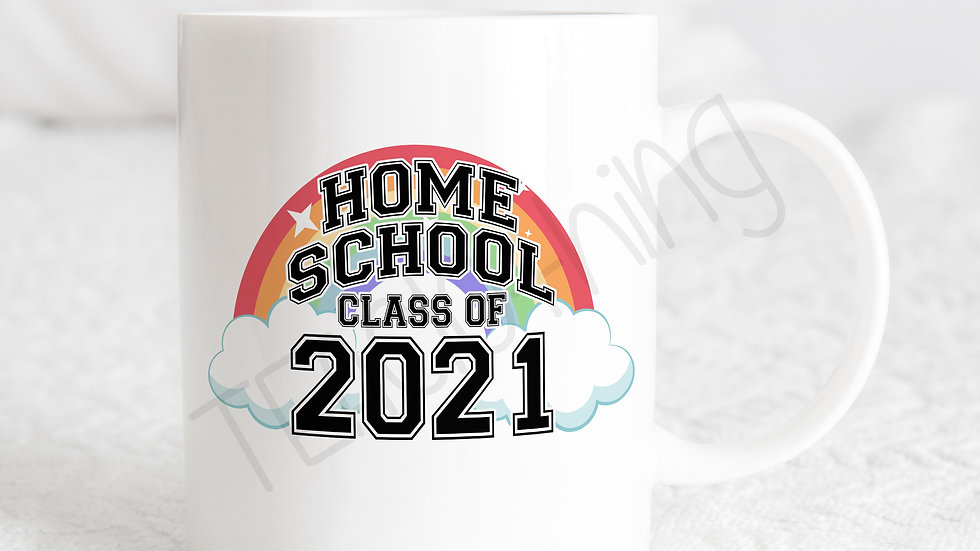 Home School Class of 2021 Rainbow