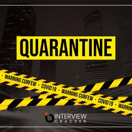 Quarantine 😭. Will I get a job after this lock down?