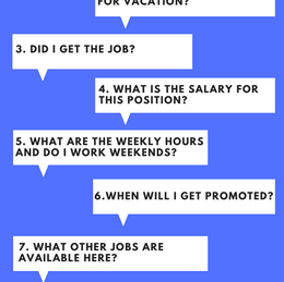 Top 10 Questions not to ask in an Interview