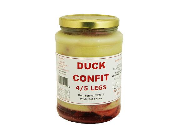 """Duck Confit (4-5 Legs) 1.4kg jar """"DANOS"""""""