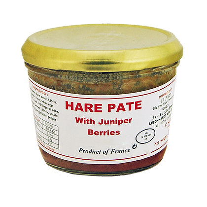 "Hare Paté with Juniper Berries ""Danos"""
