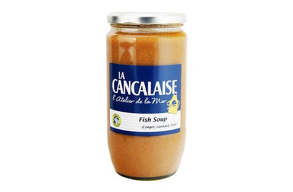 "Three Flavours Fish Soup ""La Cancalaise"""