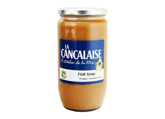 "Three Flavours Fish Soup 850ml ""La Cancalaise"""