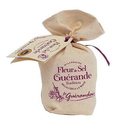 """Fleur de Sel Salt Calicot Bag """"Le Paludier"""""""