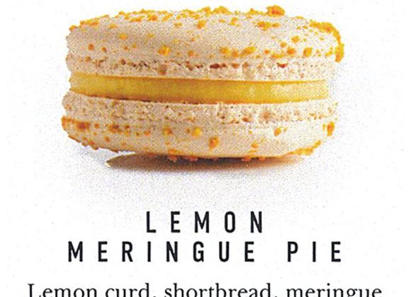 Macaron Lemon Meringue Pie
