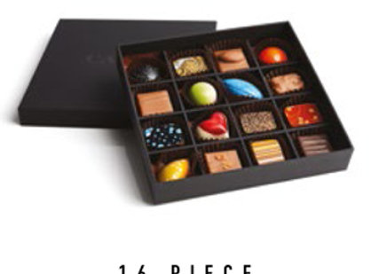 Signature Collection Enrobed & Moulded Chocolates Gift Box - 16 pcs