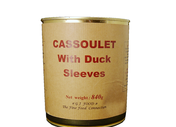 """Cassoulet with Duck Sleeves 840g tin """"DANOS"""""""