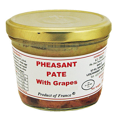 "Pheasant Paté with Grapes ""Danos"""