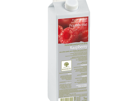 "Raspberry Purée Elopak 1kg ""RAVIFRUIT"""