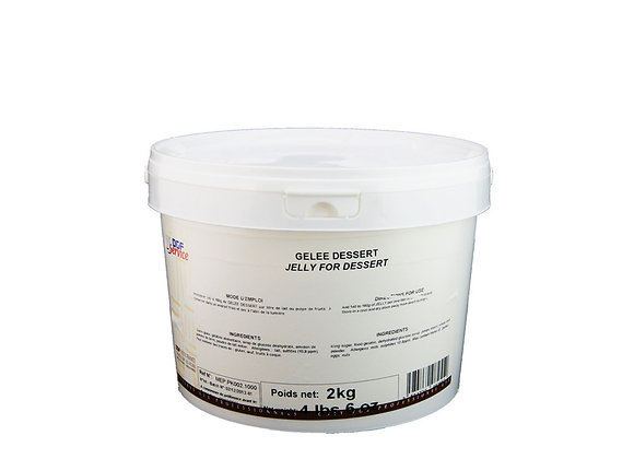 "Bucket Jelly Dessert ""DGF"" 2kg"