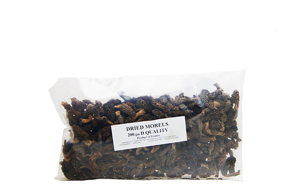 DRIED MORELS D Quality  200g