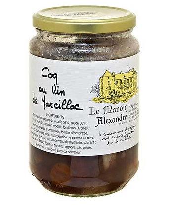 """Jar of Coq au Vin """"LE MANOIR ALEXANDRE"""