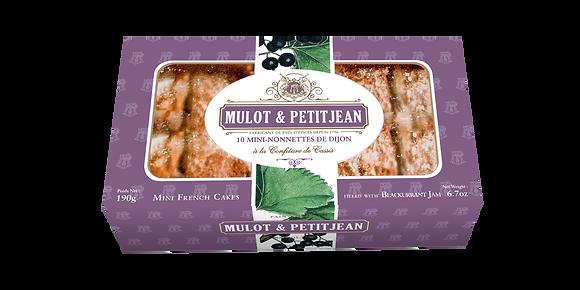 "Mini-Nonnettes filled with Blackcurrant Jam ""Mulot Petitjean"""