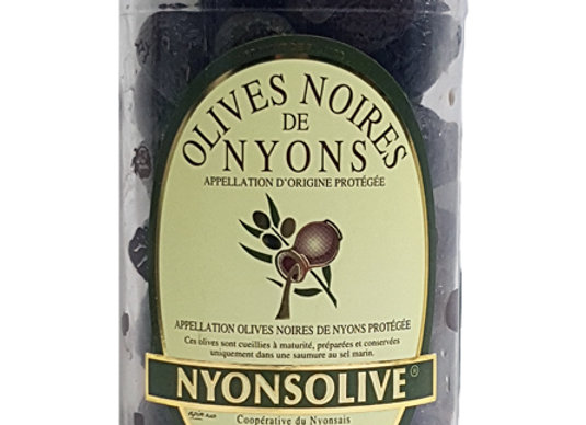"""Black olives """"Nyons Olive"""""""