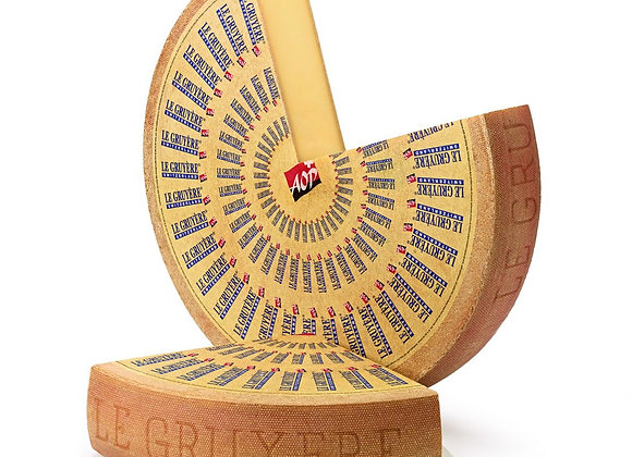 French Gruyere cheese AOP -  6 months