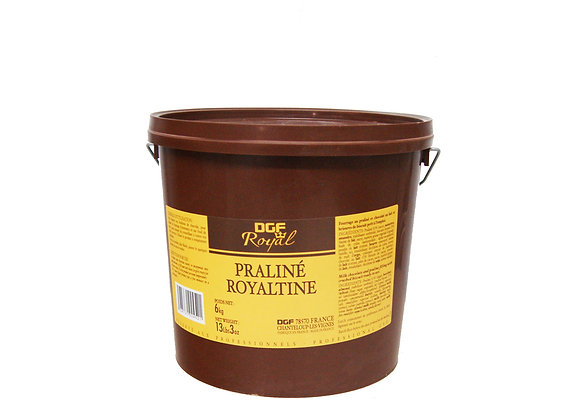 "Tub Royaltine Praline Chocolate 6kg ""DGF"""