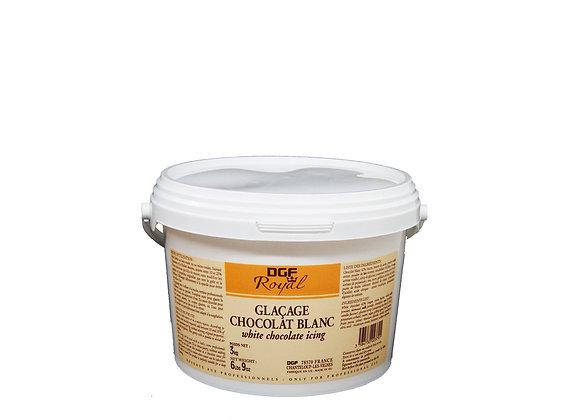 "Tub White Chocolate Glaze 3kg ""DGF"""