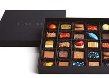 Signature Collection Enrobed & Moulded Chocolates Gift Box - 25 pcs