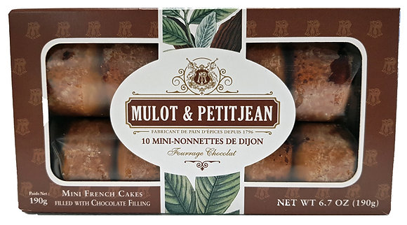 """Mini-Nonnettes filled with Chocolate filling """"Mulot Petitjean"""""""
