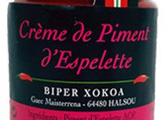Piment d'Espelette Cream