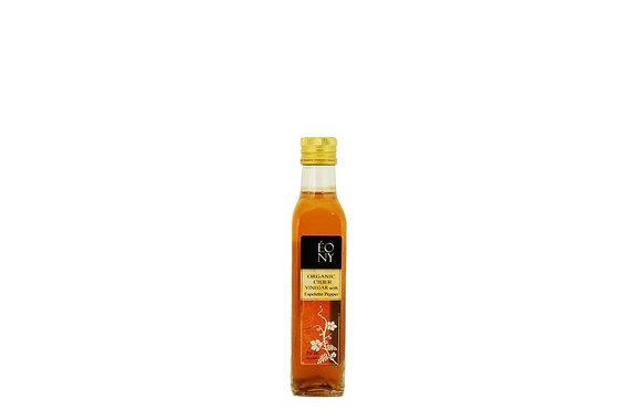 """Organic Cider Vinegar with Piment d'Espelette """"Le Sauzet"""""""