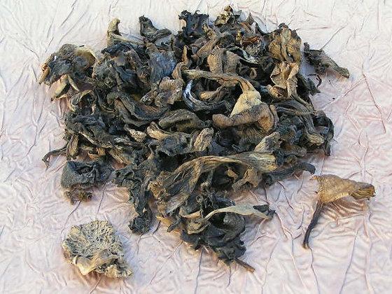 Dried Black Trumpets