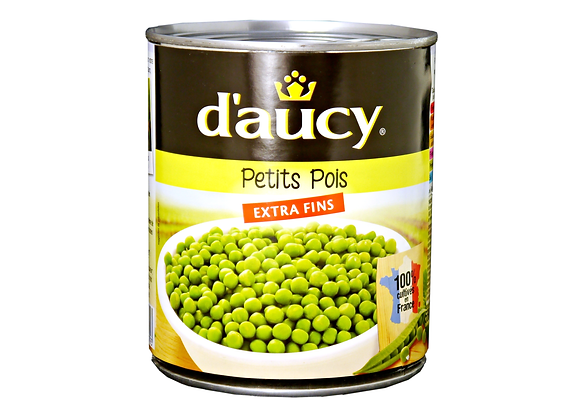 "Green Peas ""DAUCY"" 850mL"