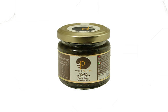"Small Black Truffle Paste - Salsa Tartufata ""Euro Pantry"""