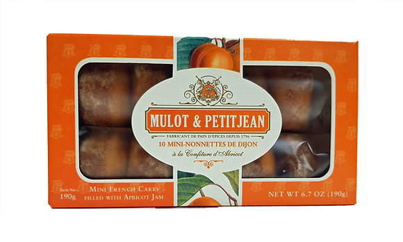 "Mini-Nonnettes filled with Apricot Jam ""Mulot Petitjean"""