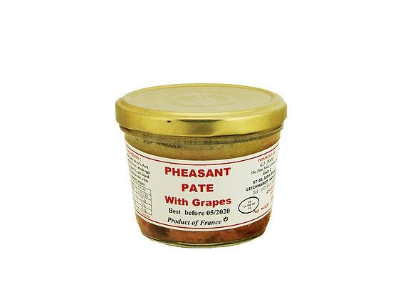 "Pheasant Paté with Grapes 180g jar ""DANOS"""