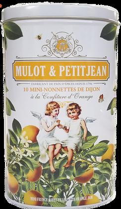 Gift Box 10 Mini-Nonnettes Orange Mulot et Petitjean