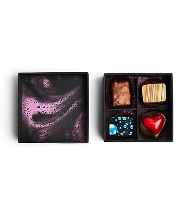 4 Pieces Box - Signature Collection Chocolates