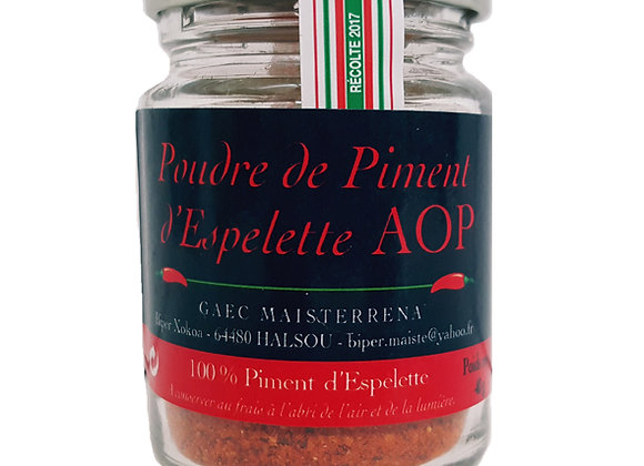 Piment d'Espelette Powder Jar