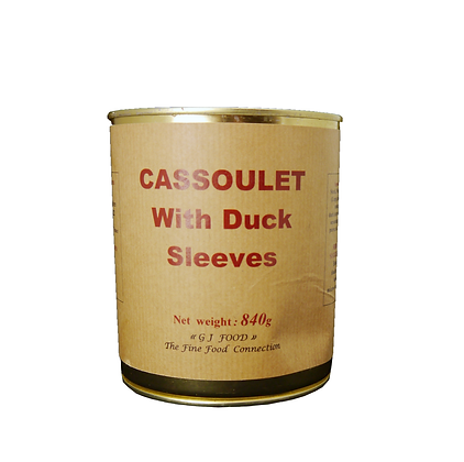 """Cassoulet with Duck Sleeves (drummets) """"Danos"""""""