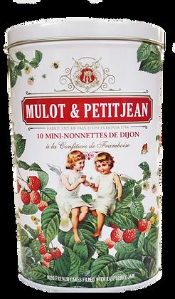 Gift Box 10 Mini-Nonnettes Raspberry Mulot et Petitjean