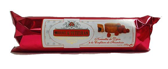 """Nonnettes Pain d'épices filled with Raspberry Jam """"Mulot Petitjean"""""""