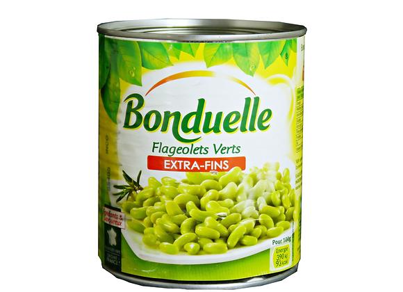 """Green Flageolet Beans 850mL """"BONDUELLE"""""""