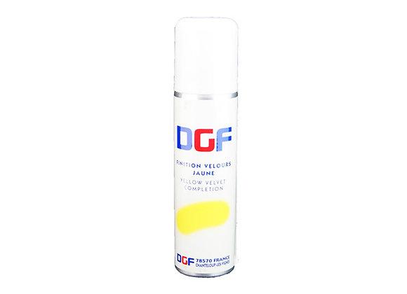 "Spray Velvet Finish Colour Yellow 150mL ""DGF"""
