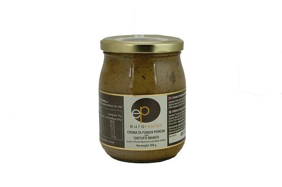 "Cream of Porcini Mushrooms and White Truffles ""Euro Pantry"""