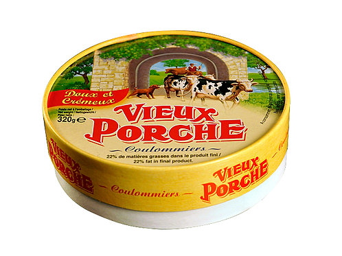"""Coulommier Cheese """"Le Vieux Porche"""""""
