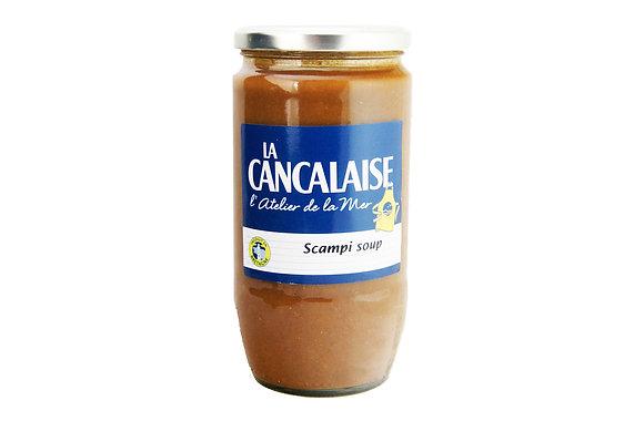 """Scampi Soup """"La Cancalaise"""""""