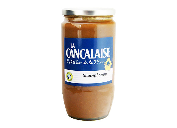 "Scampi Soup 850ml ""La Cancalaise"""