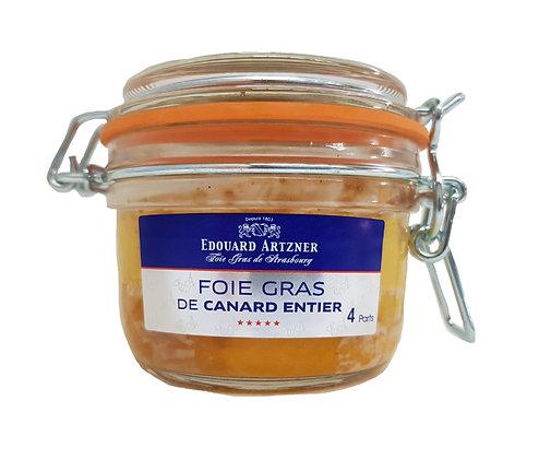 "Duck Block Foie Gras Jar ""Edouard Artzner"""