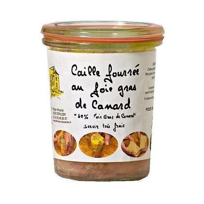 """Quails stuffed with Foie Gras """"LE MANOIR ALEXANDRE"""""""
