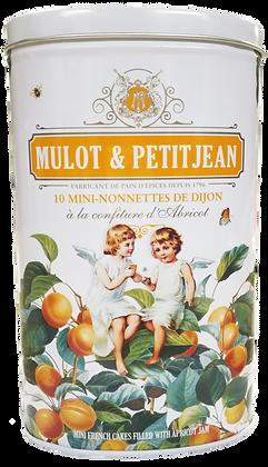Gift Box 10 Mini-Nonnettes Apricot Mulot et Petitjean