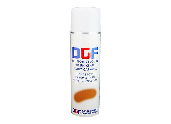 """Spray Velvet Finish Colour Brown 500mL """"DGF"""""""
